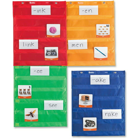 Learning Resources Magnetic Pocket Chart Squares - Math Decorations