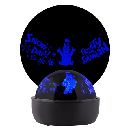 Lightshow Projection Tabletop Shadow Lights Frosty the Snowman (Blue) - Halloween Shadow Projection