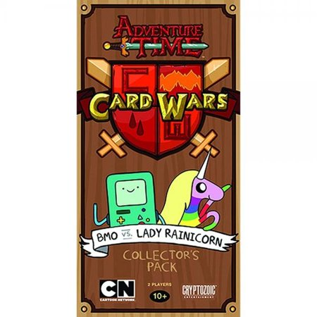 Adventure Time Card Wars Collector's Pack 2: BMO vs. Lady Rainicorn Game (Adventure Time Lady Rainicorn)