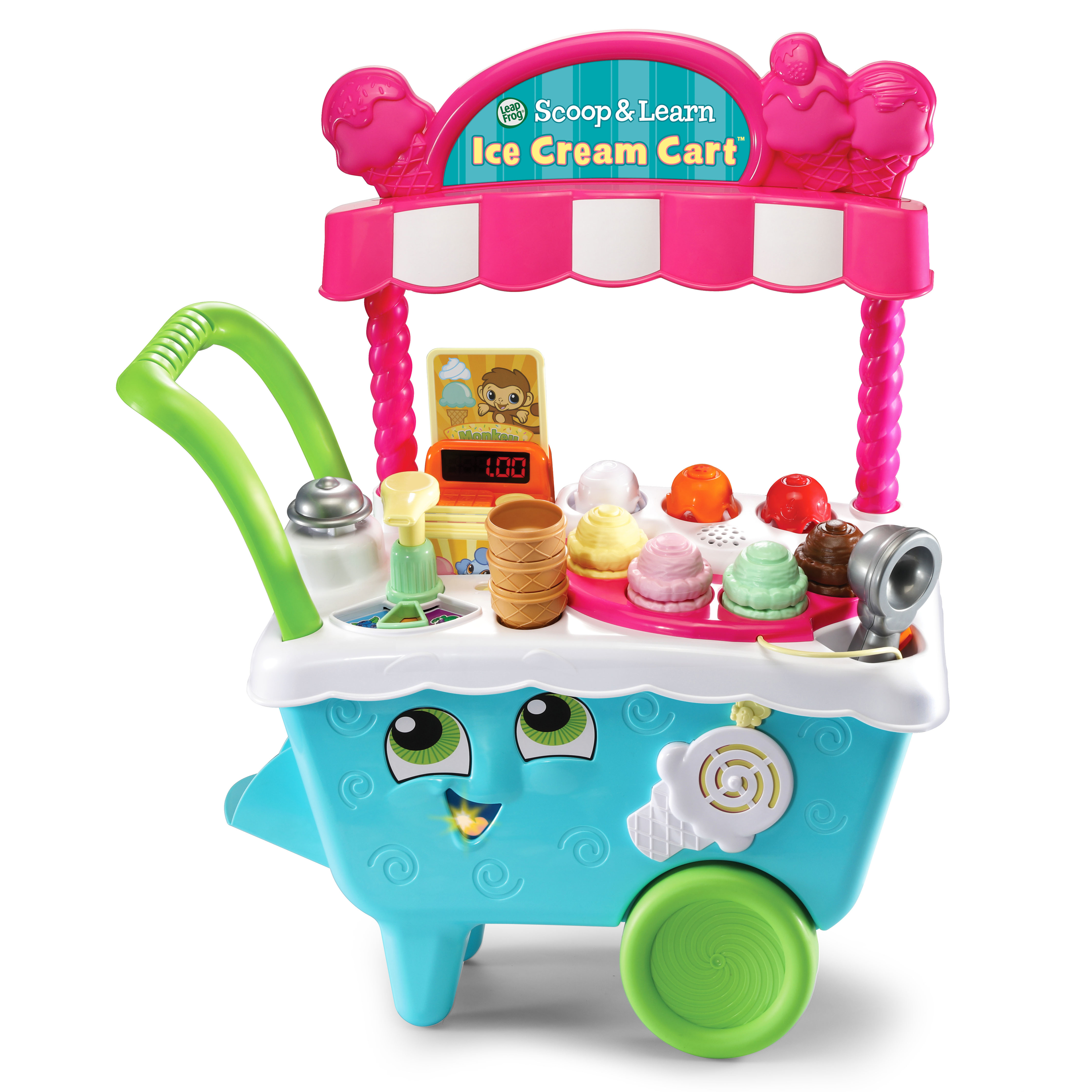 LeapFrog Scoop & Learn Ice Cream Cart by LeapFrog