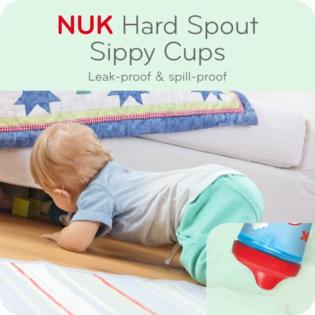 NUK® Sesame Street® Hard Spout Cup, 10 oz, 2 pack, 12+ Months