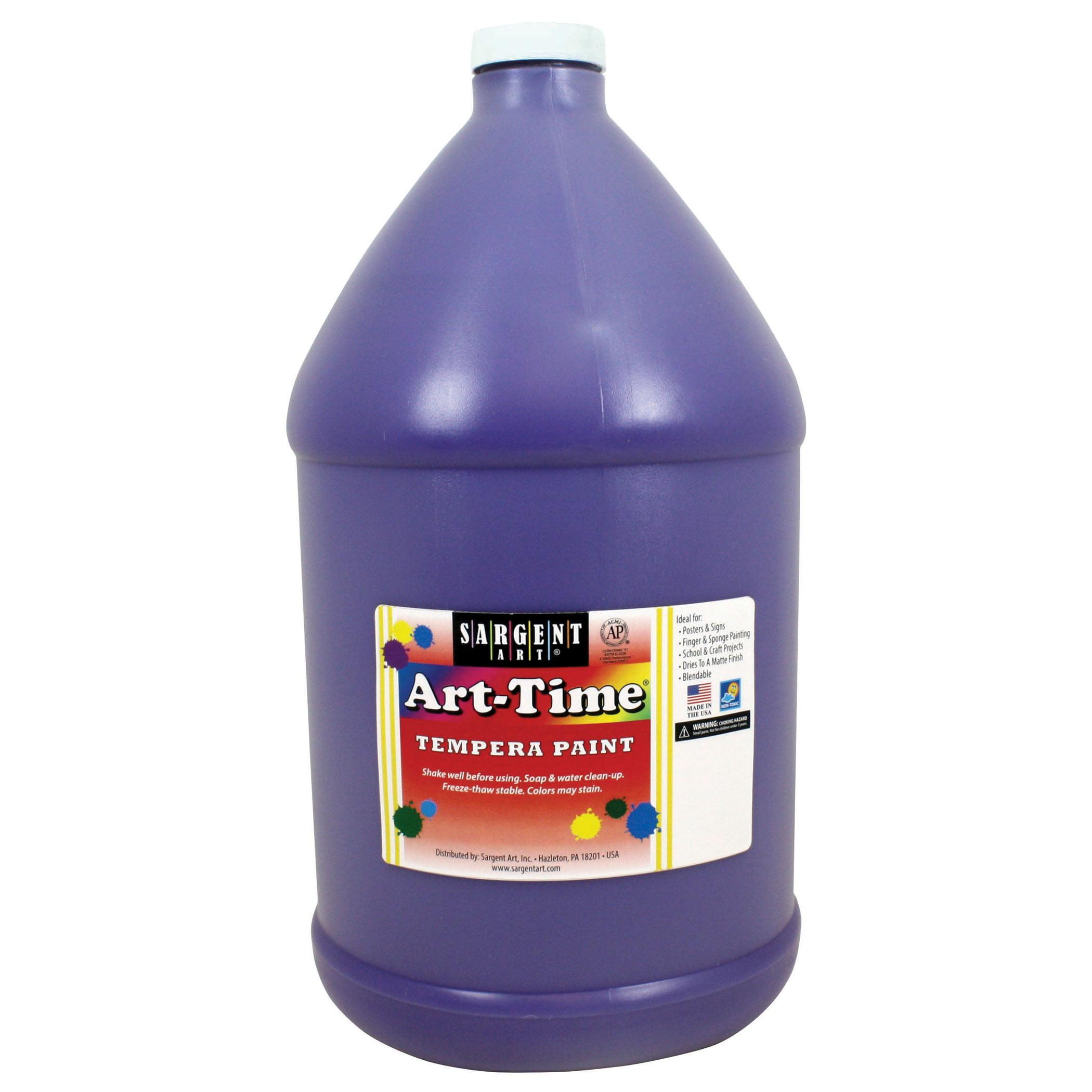 Art-Time® Tempera Paint, Violet - Gallon