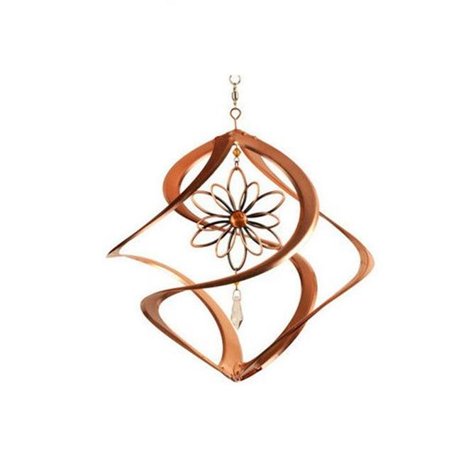 Red Carpet Studios 31041 14 in. Cosmix Chimes with Wire Flower