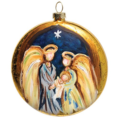 Thompson and Elm A Christmas Blessing Disk Ornament