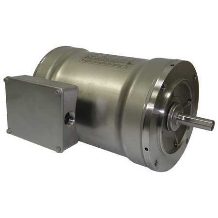 Bluffton 5Nun0 Washdown Motor 3 Ph Tenv 1 Hp 1725 Rpm