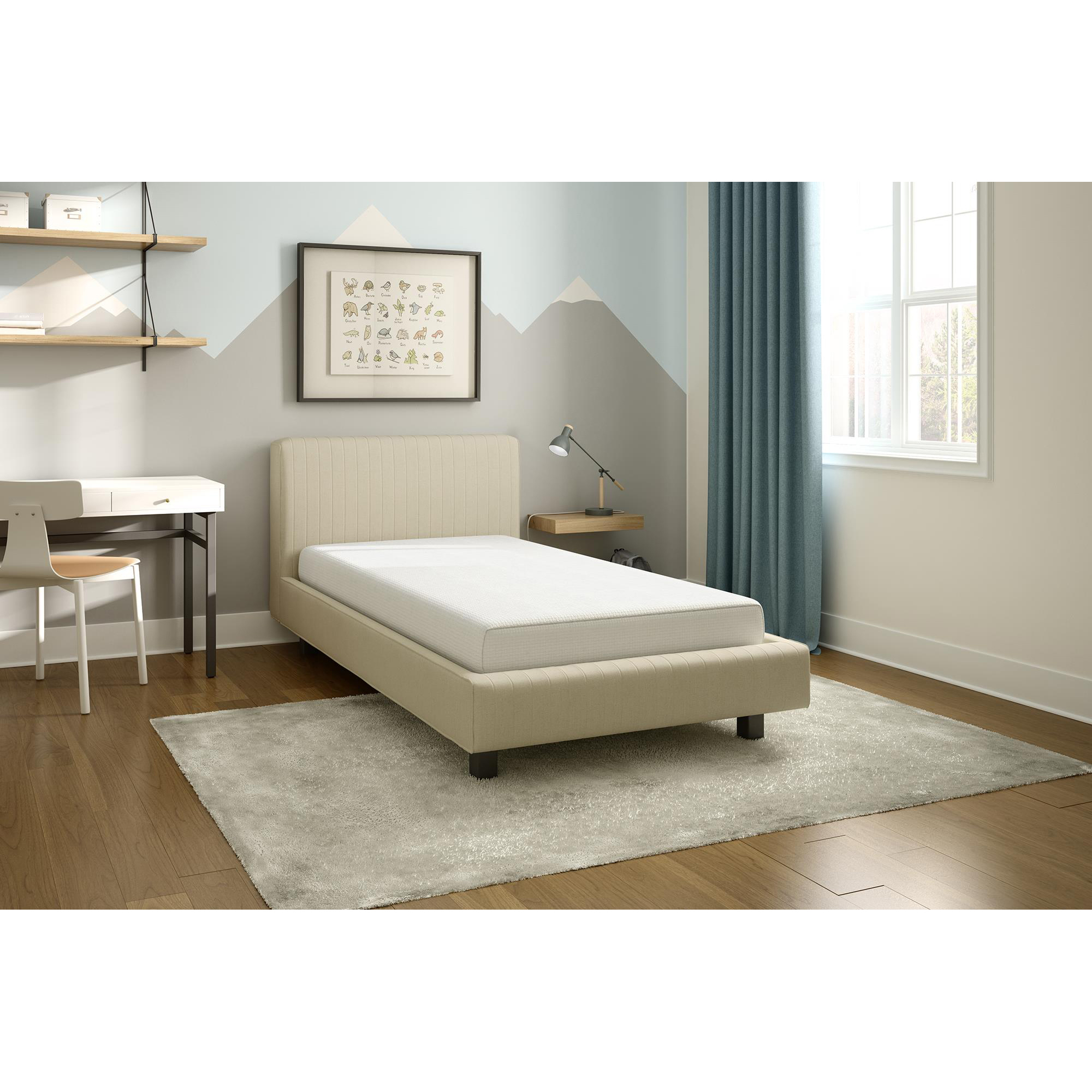 """Signature Sleep Gold Series CertiPUR-US 6"""" Memory Foam Mattress, Multiple sizes by Dorel Home Products"""