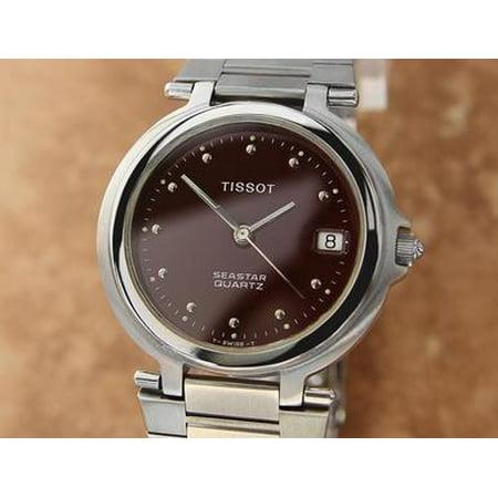 Tissot Seastar Swiss Made 32mm Men's Quartz Stainless St Dress Watch R597 (Tissot Swiss)