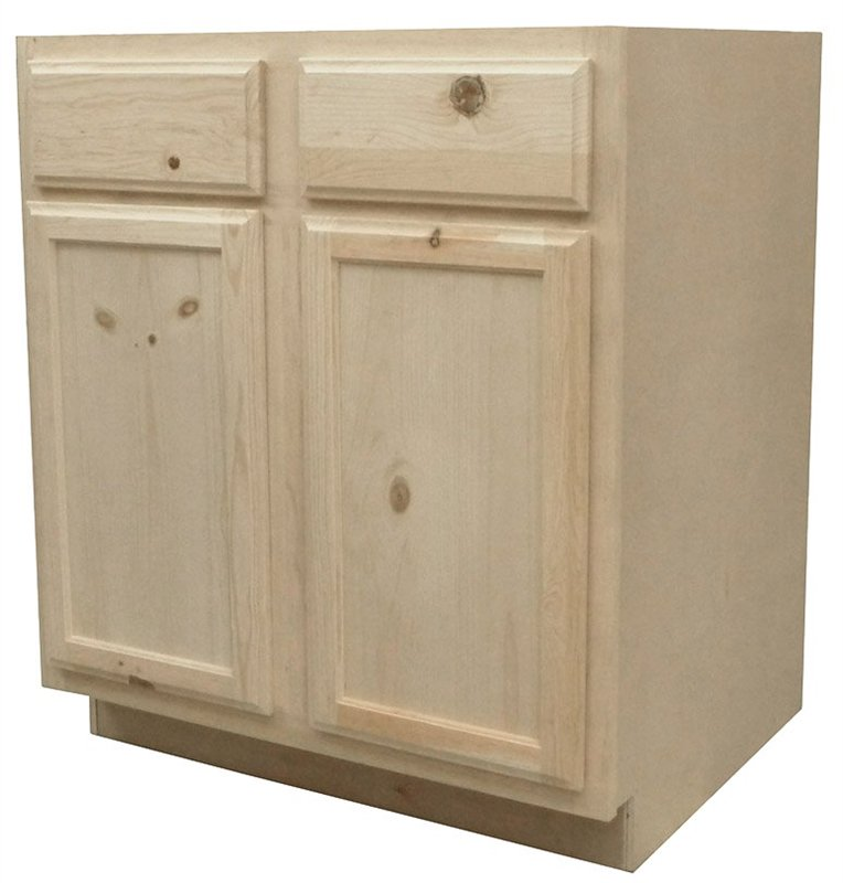 CABINET BASE PINE 30IN