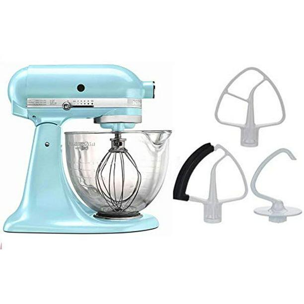 Kitchenaid 5 Quart Stand Mixer Glass Bowl Ice Blue Walmart Com Walmart Com