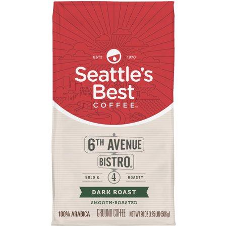 Seattles Best Coffee Cafe Moulu Ground Coffee  20 Oz