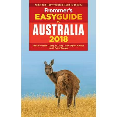 Frommer's Easyguide to Australia 2018: 9781628873467