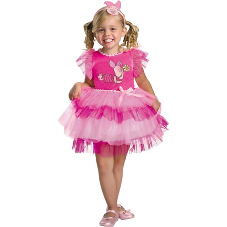 Winnie the Pooh Frilly Piglet Toddler Halloween Costume for $<!---->