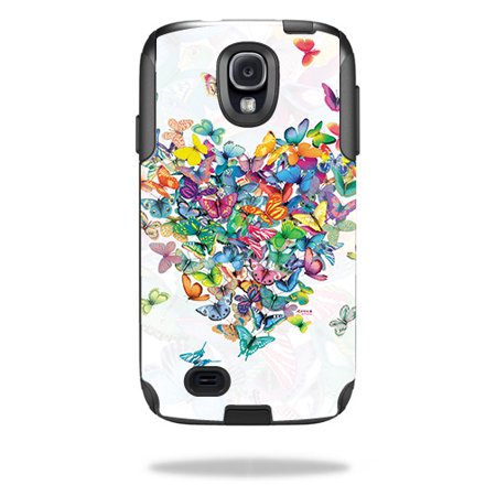 MightySkins Skin Compatible With OtterBox Commuter Samsung Galaxy S4 Case – Action Fish Puzzle   Protective, Durable, and Unique Vinyl wrap cover   Easy To Apply, Remove   Made in the
