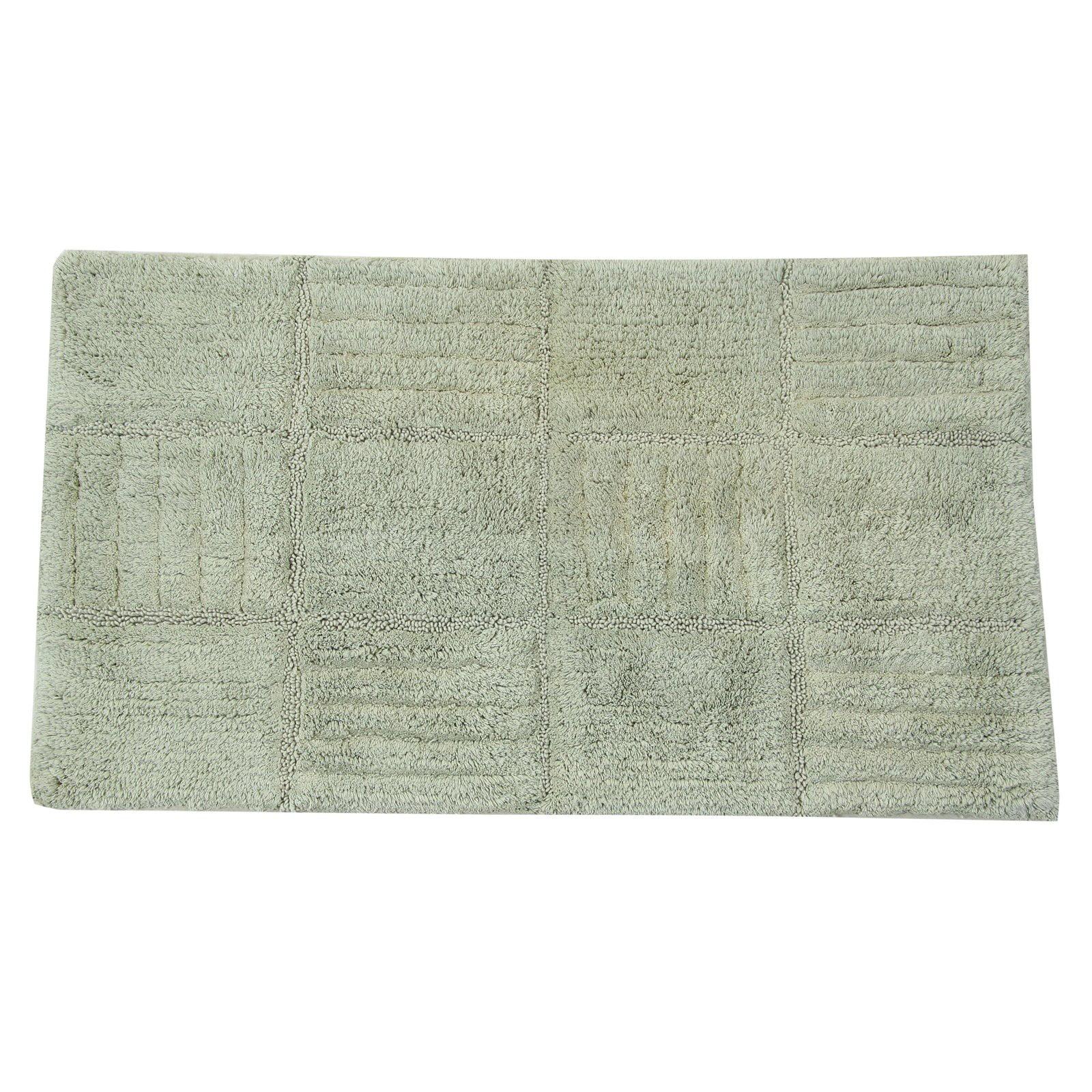 Textile Decor Elegance Collection Chakkar Board Bath Rug