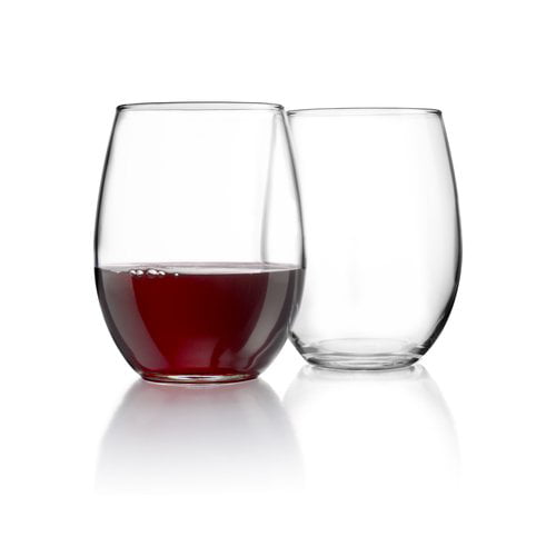 Arc International Luminarc Cachet Perfection Stemless Wine Glass, 15-Ounce, Set of 6 by Blockhouse Arc