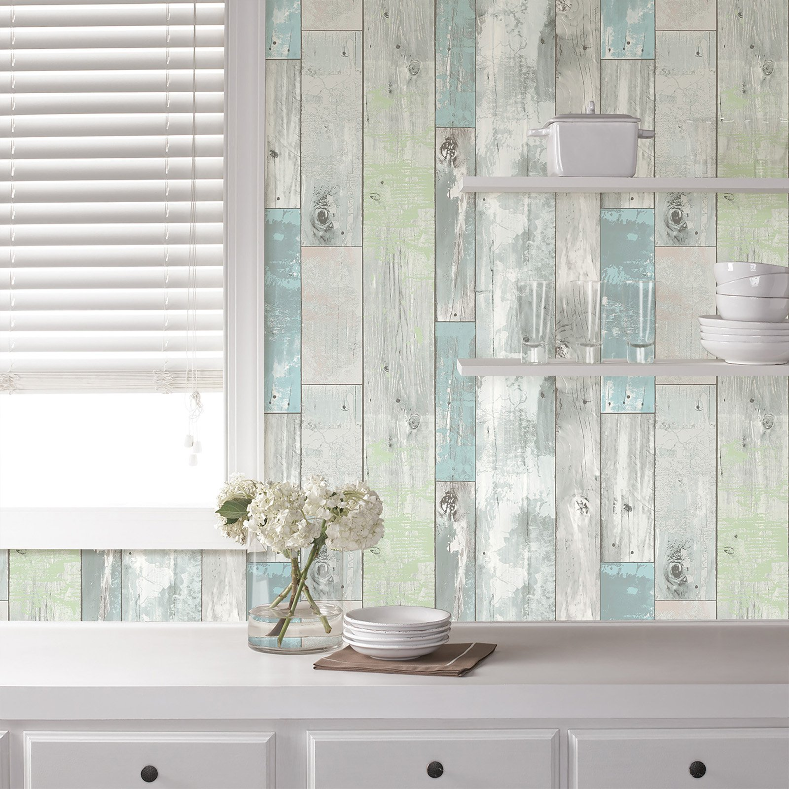 Peel and Stick Wallpaper, Beachwood
