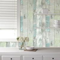 NuWallpaper Beachwood Peel & Stick Wallpaper