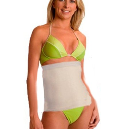 New Invisible Tummy Tuck Trimmer Slimmimg Belt For Men & Women(Size: