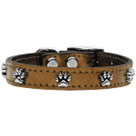 Metallic Paw Leather Bronze 12