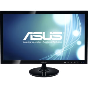 21.5IN WS LCD 1920X1080 VS228H-P VGA DVI HDMI BLK 5MS TILT by ASUS - DISPLAY