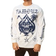 Famous Stars And Straps Men's Relax Reaper Graphic T-Shirt