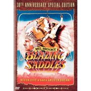 Me Brooks' Blazing Saddles (DVD)
