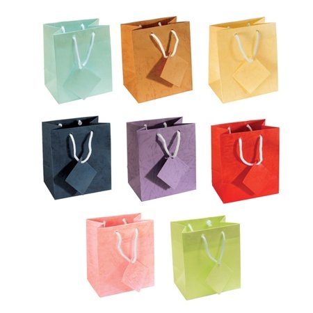 Assorted Pastel Paper Tote Gift - Pastel Gift Bags