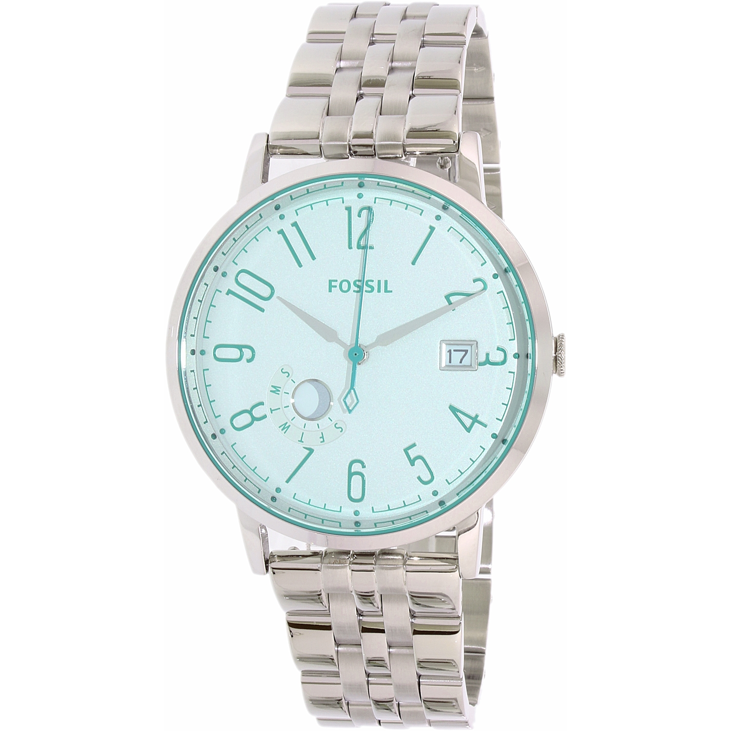 Fossil Men's Vintage Muse ES3956 Silver Stainless-Steel Q...