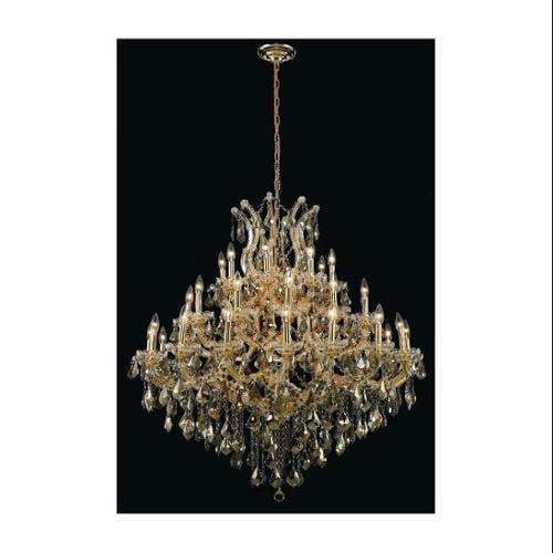 Elegant Lighting 2800G44G-GT/RC Chandeliers Maria theresa
