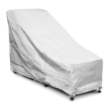 Chair And Ottoman Slipcover (KoverRoos DuPont Tyvek White Chair and Ottoman Cover )