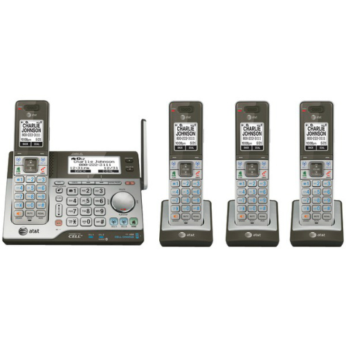 AT&T CLP99486 4 Handset Cordless Answering System by AT&T