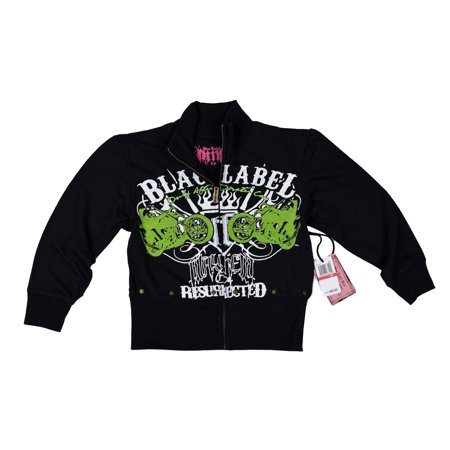 Blac Label Junior Long Sleeve Sweat Shirt XS, Black Blac Label Hoodies