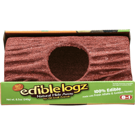 Wild Harvest Edible Logz Hide Away Treat for Small Animals, 8.5 oz.](Non Edible Halloween Treats)