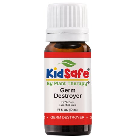 Plant Therapy Germ Destroyer Synergy Essential Oil | Kids Illness Guard Blend | 100% Pure, KidSafe | 10 mL (1/3 oz)