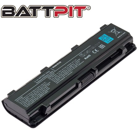 BattPit: Laptop Battery Replacement for Toshiba Satellite L845-SP4270RM, PABAS259, PABAS260, PABAS261 (10.8V 4400mAh 48Wh)