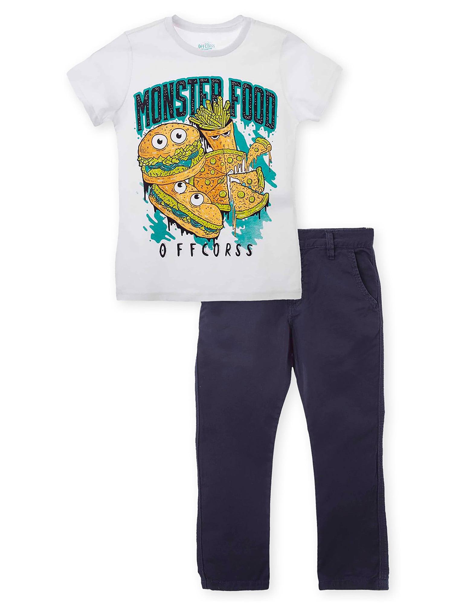 OFFCORSS Big Boys 2 Piece Easter Skinny Outfits | Ropa de Niños de Vestir