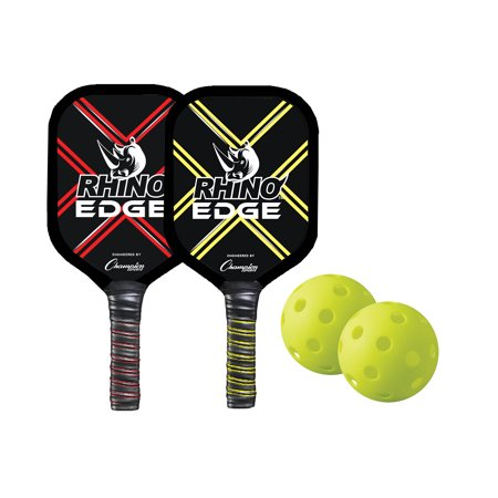 Paddle Set - Champion Sports Wooden Pickleball Paddle Set