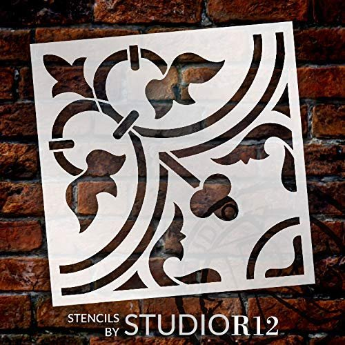 reusable mylar stencil Coffee Cup Stencil furniture stencil pillow stencil sign stencil COFFEE STENCIL 12x12