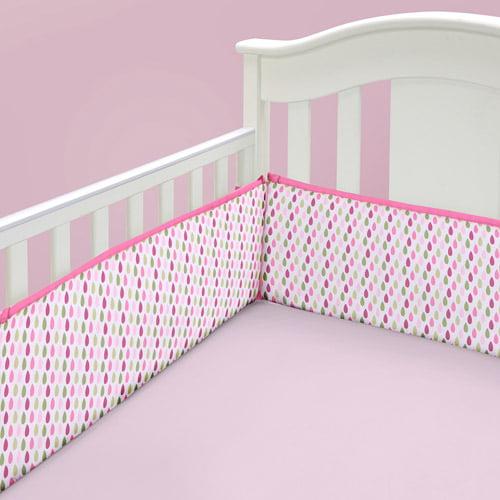 Baby Boom Perfectly Paisley Crib Sheet, Pink
