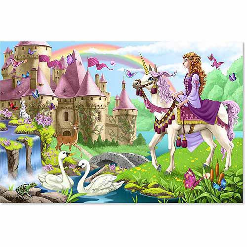 Fairy Tale Castle Floor Puzzle, 24 Pieces