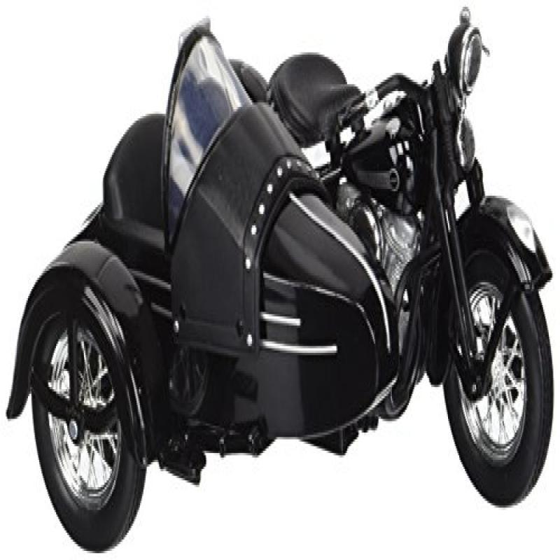 Maisto 1:18 Harley Davidson 1948 FL Panhead W Sidecar Diecast Model Motorcycle by