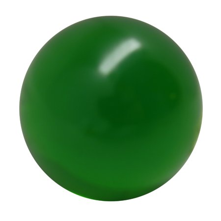 Forest Green Acrylic Contact Juggling Ball - 76mm by Rock Ridge Sales