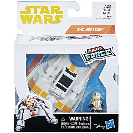 Luke Skywalker Jabbas Palace - Star Wars Micro Force Snowspeeder & Luke Skywalker