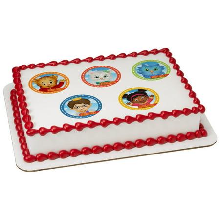 Daniel Tigers Neighborhood Grrrific 1 4 Sheet Image Cake Topper Edible Birthday Party