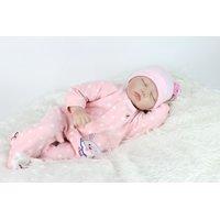 "22"" Realistic Reborn Newborn Baby Dolls Handmade Lifelike Soft Silicone Vinyl Doll"