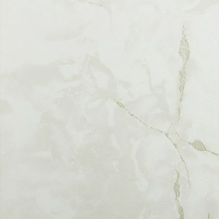 Achim Nexus Classic White with Grey Veins 12x12 Self Adhesive Vinyl Floor Tile - 20 Tiles/20 sq. -