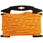 "SecureLine 1/4"" x 50' Orange Visiflect Reflective Rope"