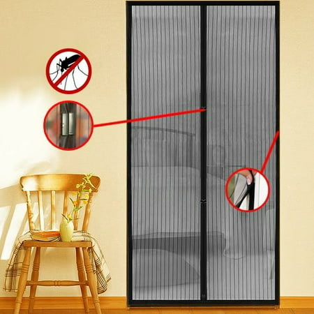 New Insect Magnetic Door Mesh Screen ()
