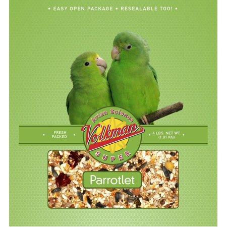Volkman Seed Avian Science Super Parrotlet Nutritionally Balanced Food Diet 4 lb ()