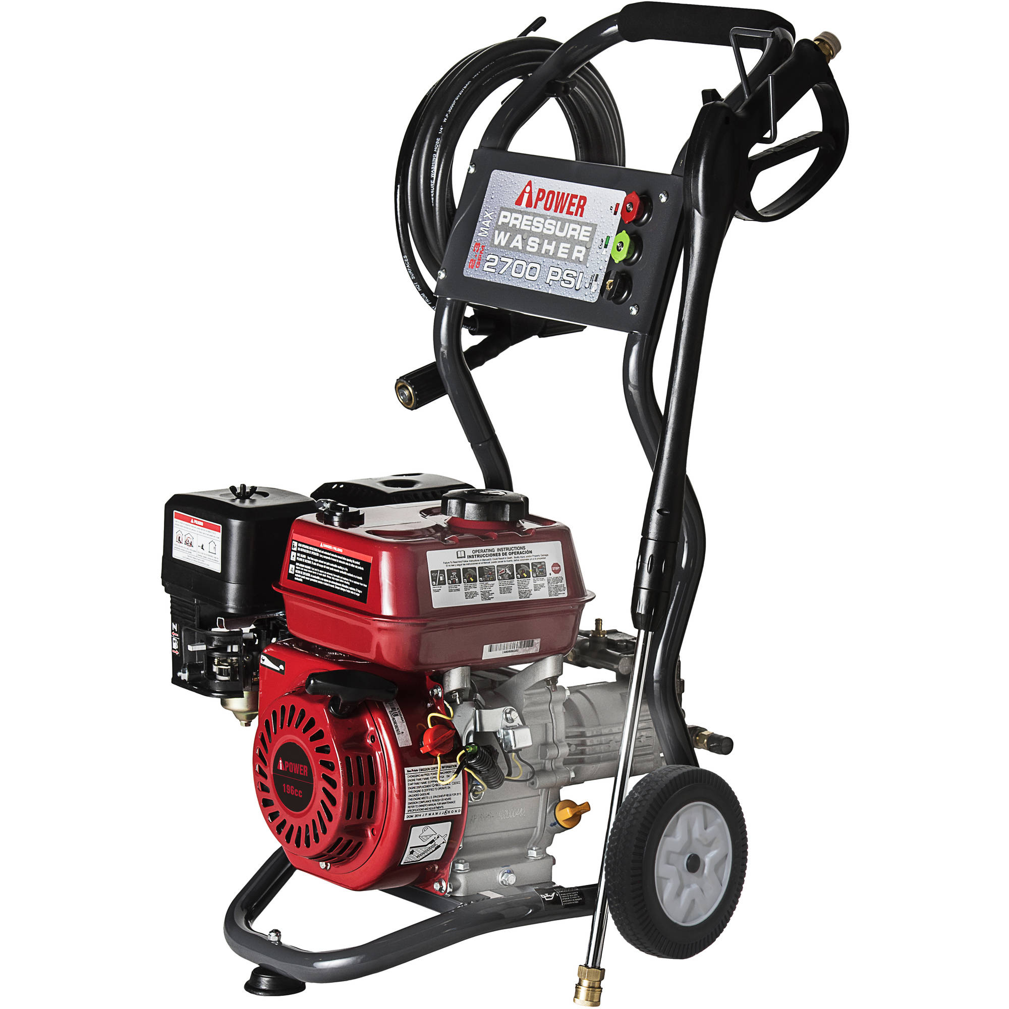 A Ipower 2700 Psi Gasoline Powered Pressure Washer